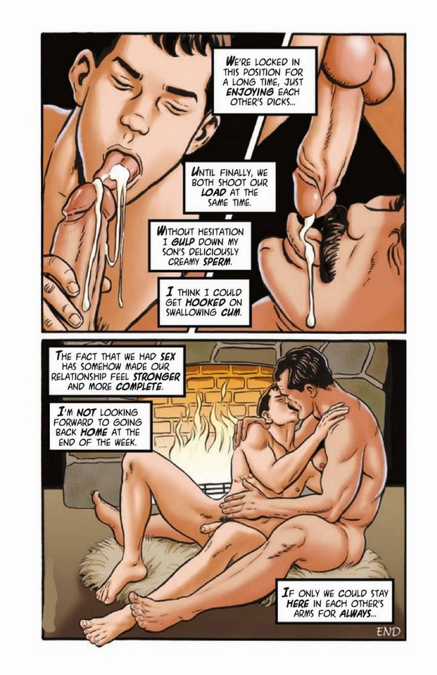 порно комиксы гей отец и сын
